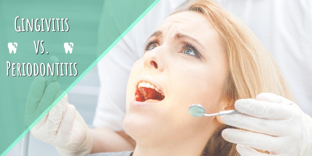 woman afraid of dental tools