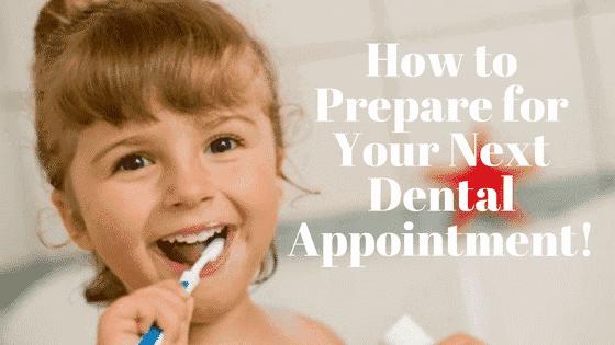 child brushing teeth and smiling