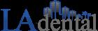 LA Dental Logo - Colour